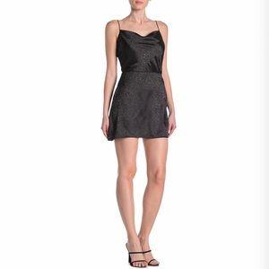 Kendall + Kylie Leopard Print Mini Dress